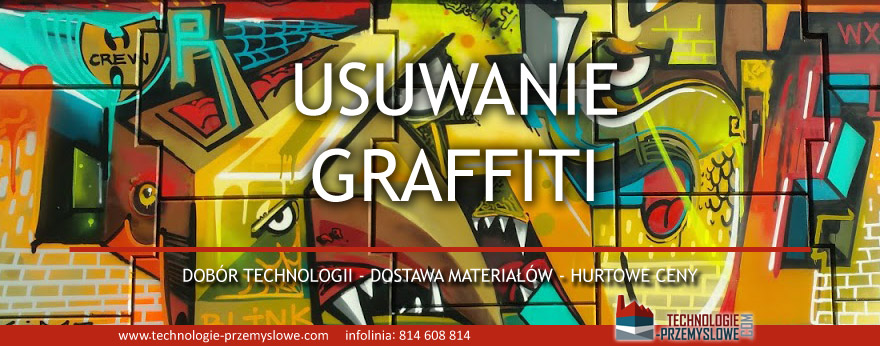 środki do usuwania graffiti