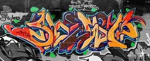 usuwanie graffiti ze ściany i muru - system AGS